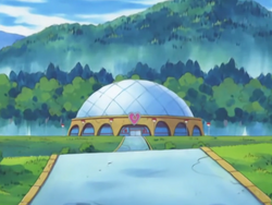 Mossdeep Gym anime.png