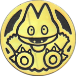 DP3 Gold Munchlax Coin.png
