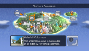 Pokétopia Waterfall Colosseum Map.png