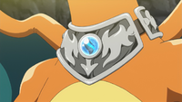 Charizardite X anime.png
