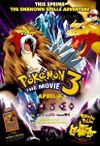 Theatrical poster for the third Pokemon movie