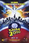 Theatrical poster for the second Pokemon movie