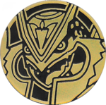 XYD Gold Mega Rayquaza Coin.png