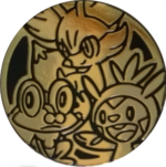 XYTK Gold Kalos Starters Coin.png