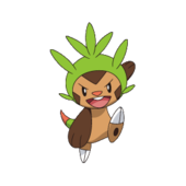 Chespin Battle Nine.png